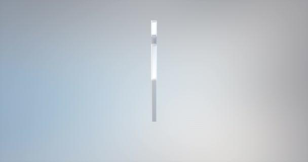 Füllfederfeder weiß 3D-Symbol