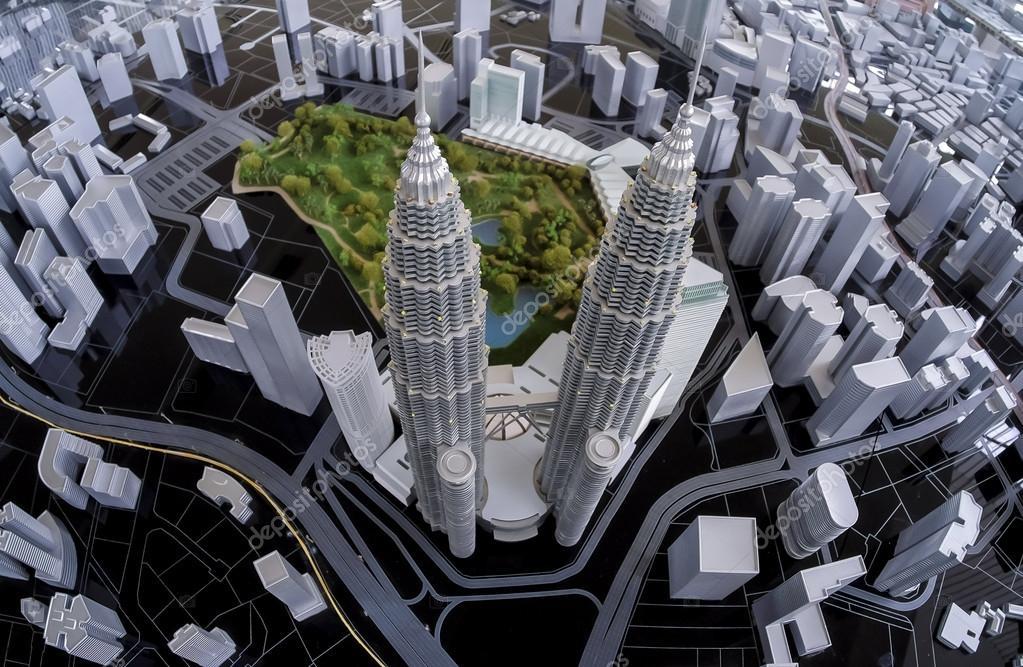 Klcc Petronas Twin Towers Stock Editorial Photo