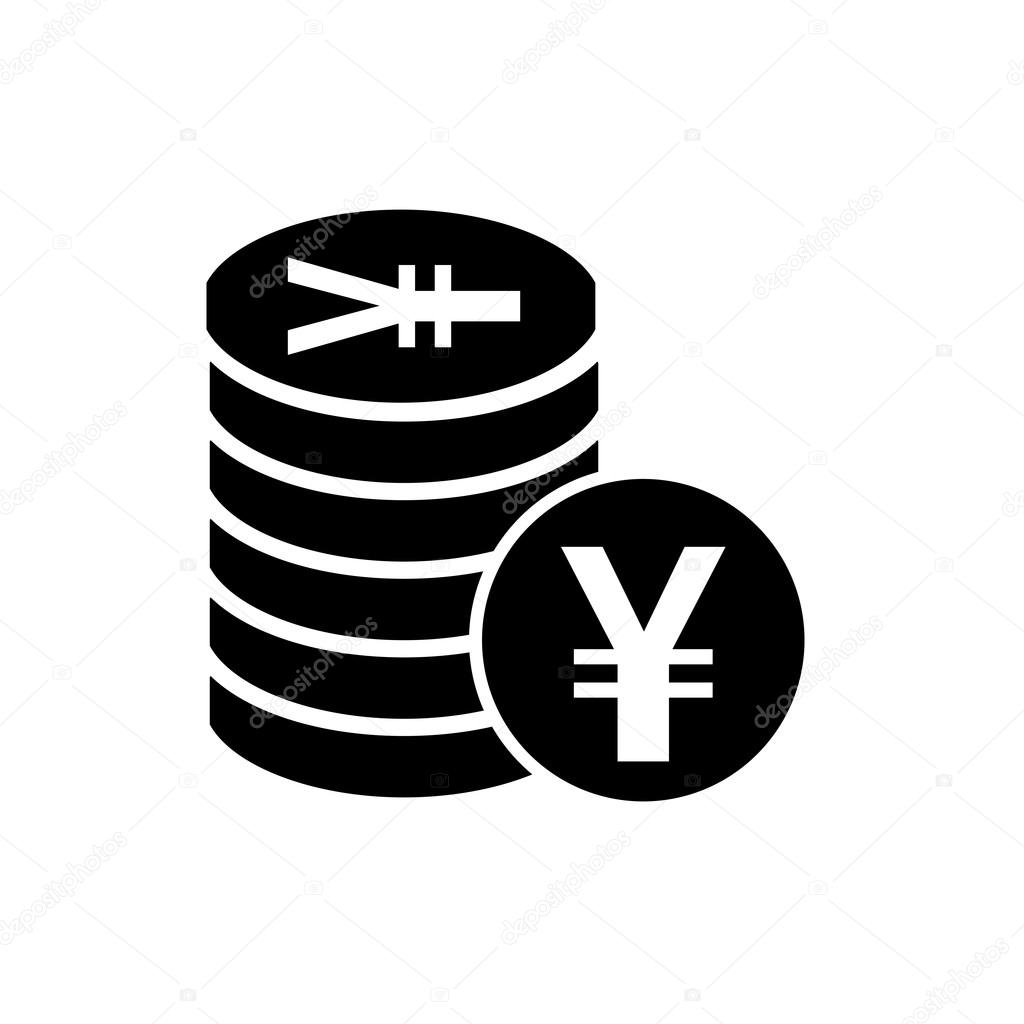 Japanese yen flat icon for apps and websites stock vector japanese yen or chinese yuan currency symbol flat icon for apps and websites vector by artemstepanov biocorpaavc Choice Image