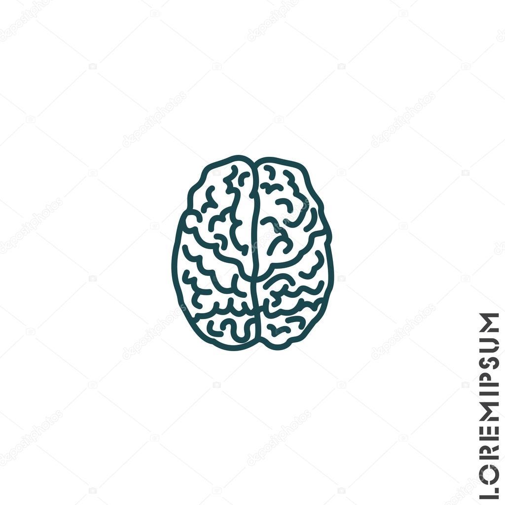 Organ des Menschen, Gehirn — Stockvektor © PPVector #120413324