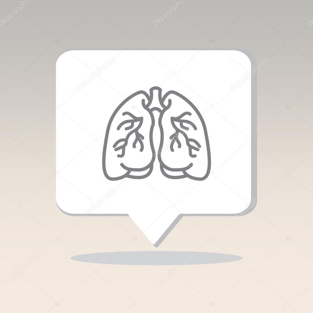 Organ des Menschen, Lunge — Stockvektor © PPVector #120417978