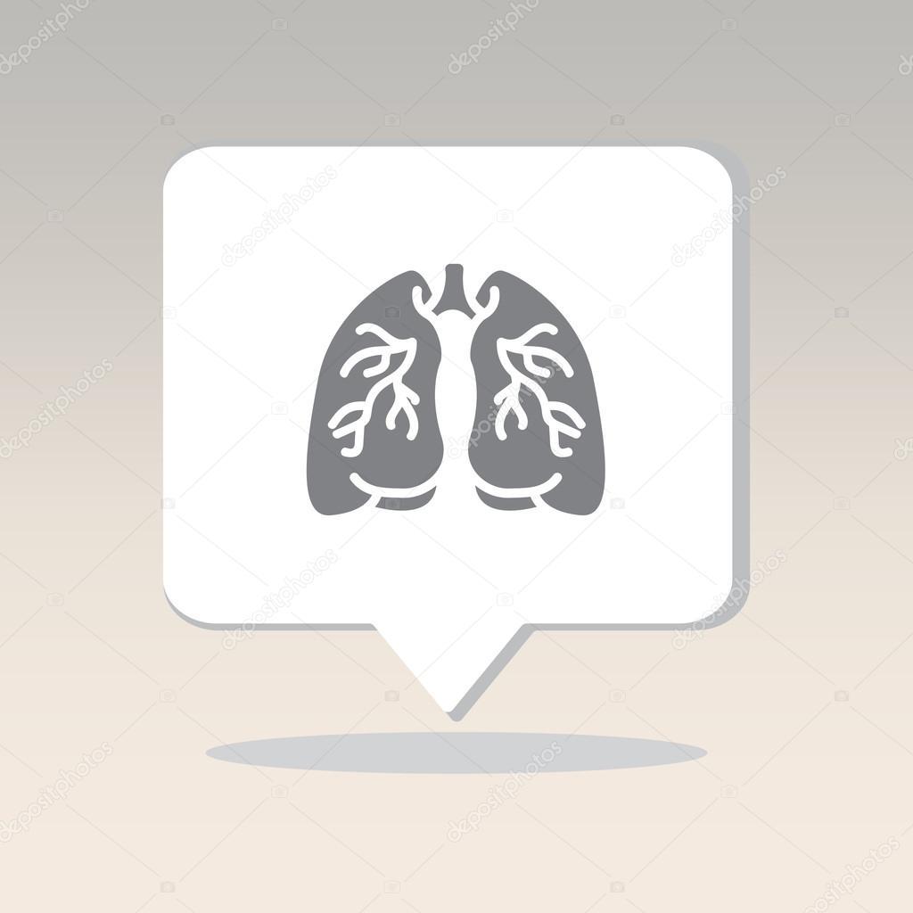 Organ des Menschen, Lunge — Stockvektor © PPVector #120419816