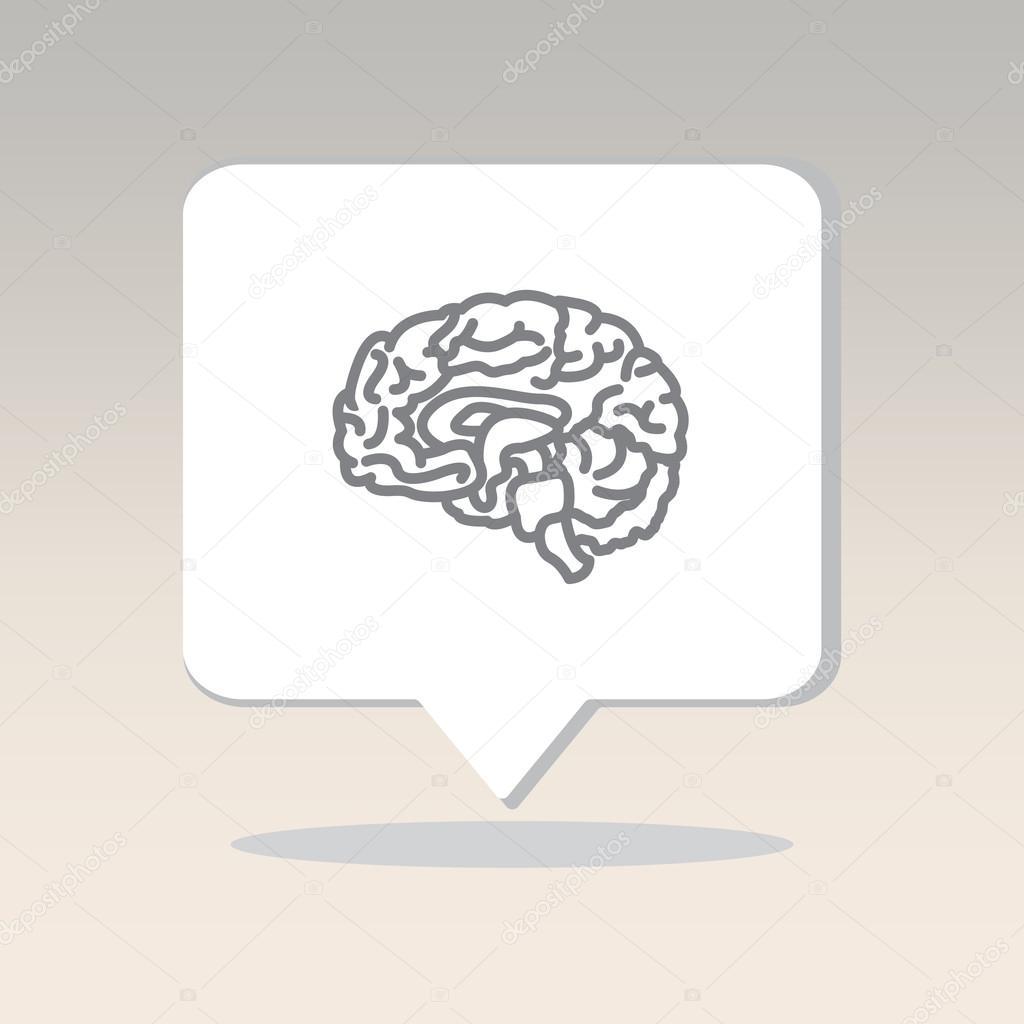Organ des Menschen, Gehirn — Stockvektor © PPVector #120423086
