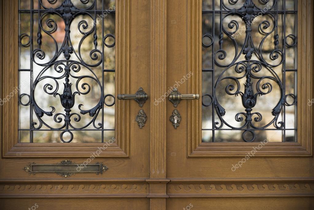 Alte Turen Griffe Schlosser Gitter Und Fenster