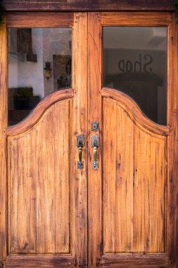 Wood door to your hom