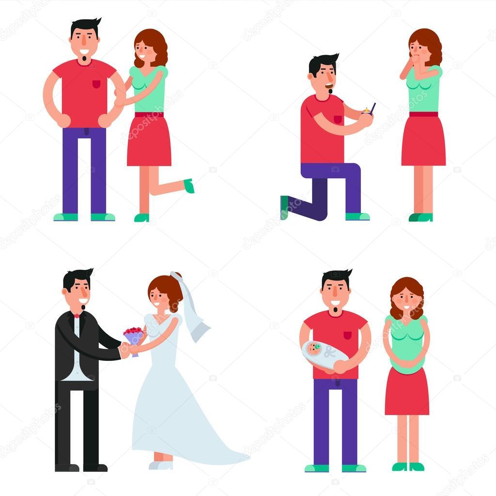 Семья знакомство брак