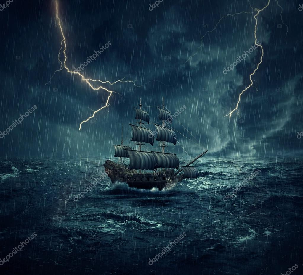 ghost storm ship