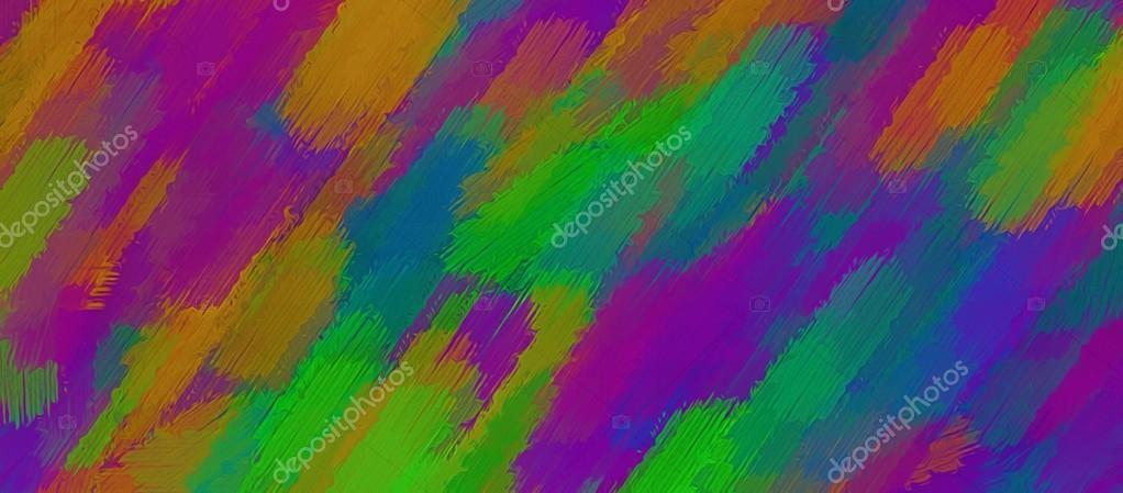 rose orange violet et vert peinture abstrait de texture ...