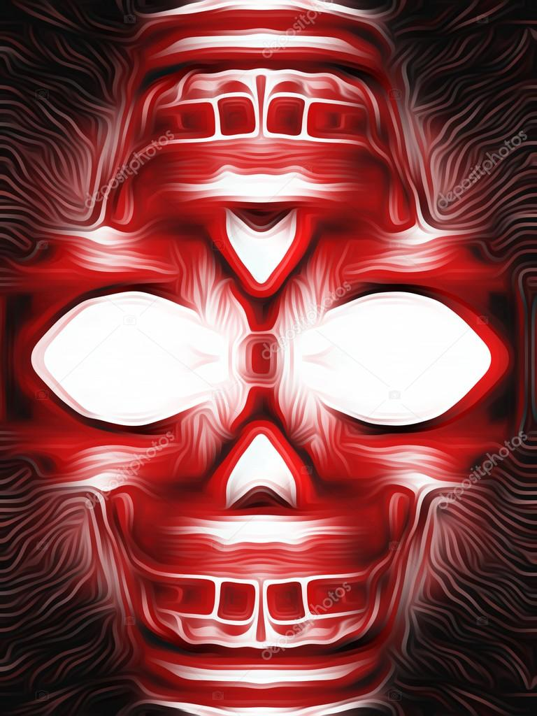 Red skull wallpaper hd | Drawing and