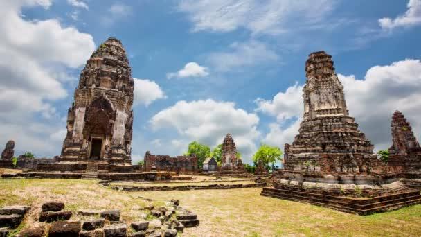 Ancient pagoda architecture Wat Pra Sri Ratana Mahatat