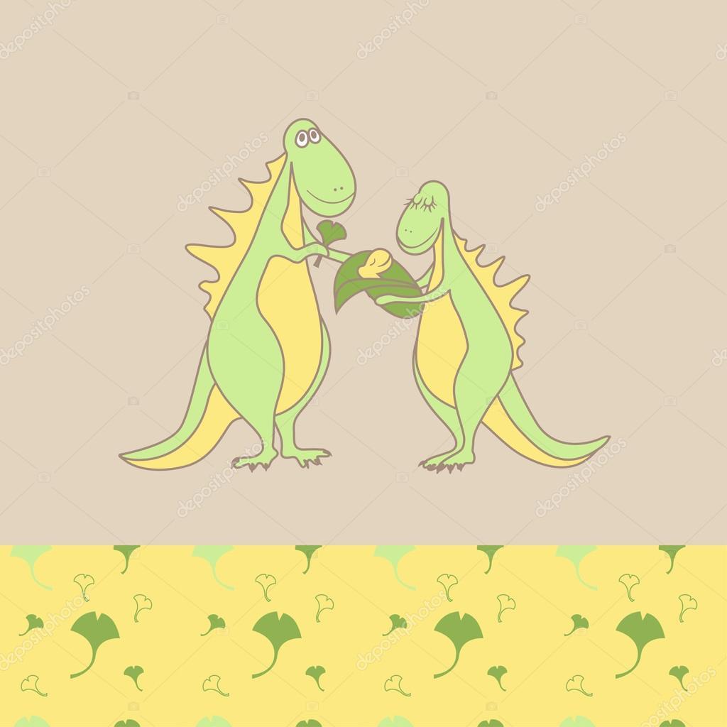 Patrones de dinosaurios familia acogedora desgaste superior e ...