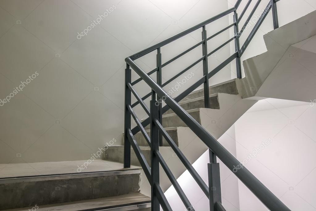Spiral Stairway, Way To Success, Way To Escape, Emergency Fire Exit Stairway .