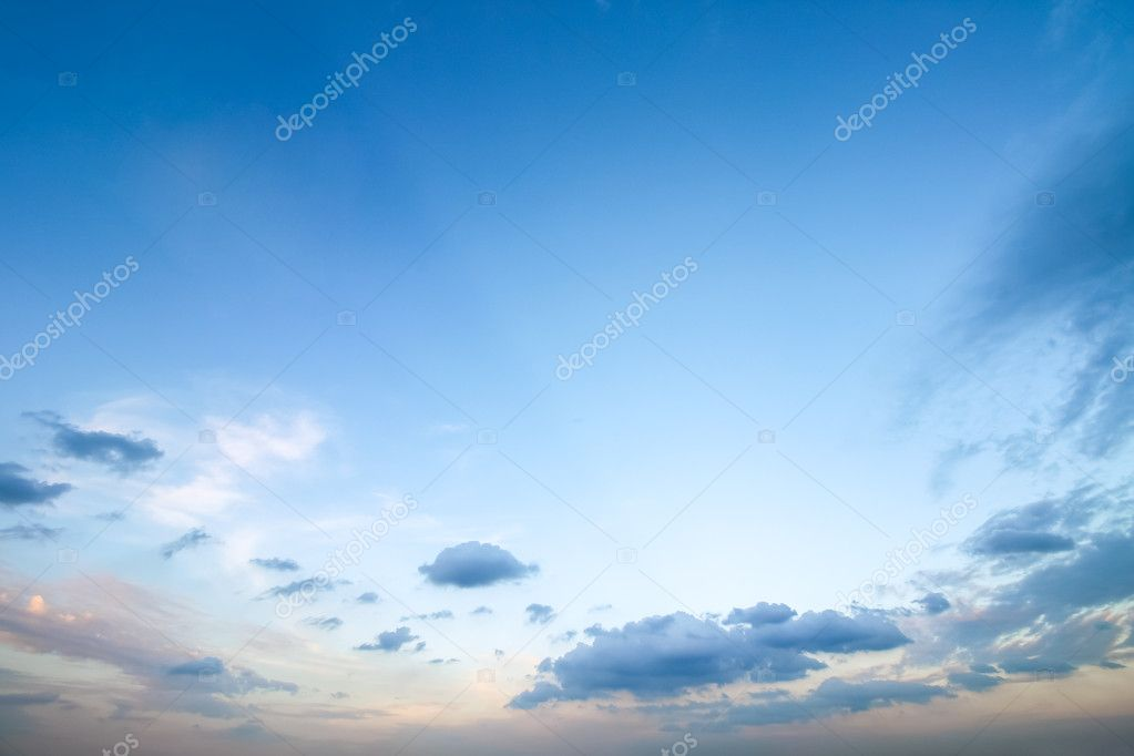 Clear Blue Sky With Cloudy As A Background Wallpaper Pastel Sky Wallpaper Stock Photo C Bookybuggy Gmail Com 123573608