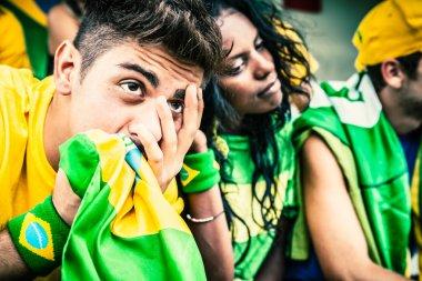 Worried Brazilian Fans