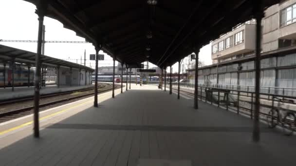 Vlakové nádraží v Brně v České republice