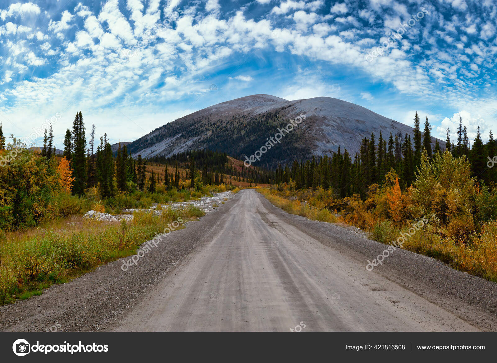 Beautiful Nature In Yukon Canada Stock Photo C Edb3 16 421816508