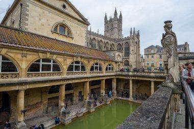 Roman spa in Bath, UK