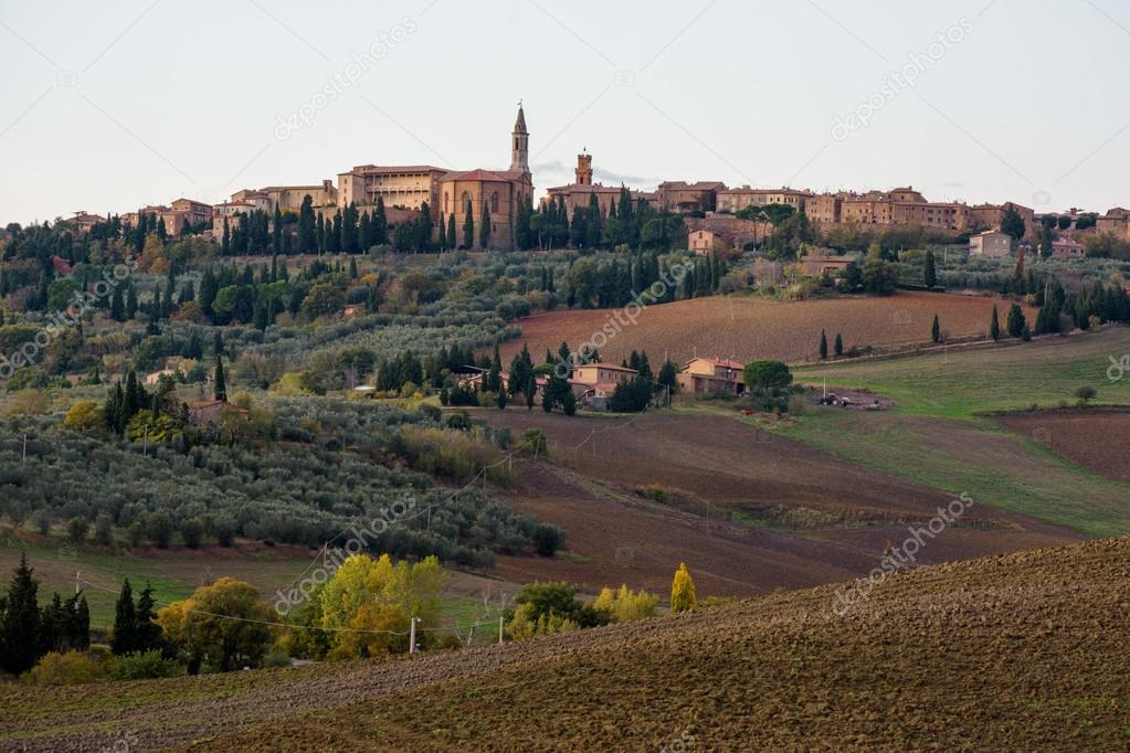 beautiful nature in  Tuscany