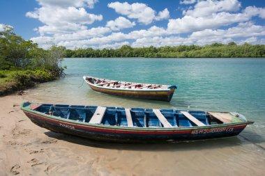 two boats in Jericoacoara National Park