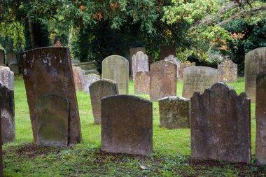 graveyard in Oxford,  UK