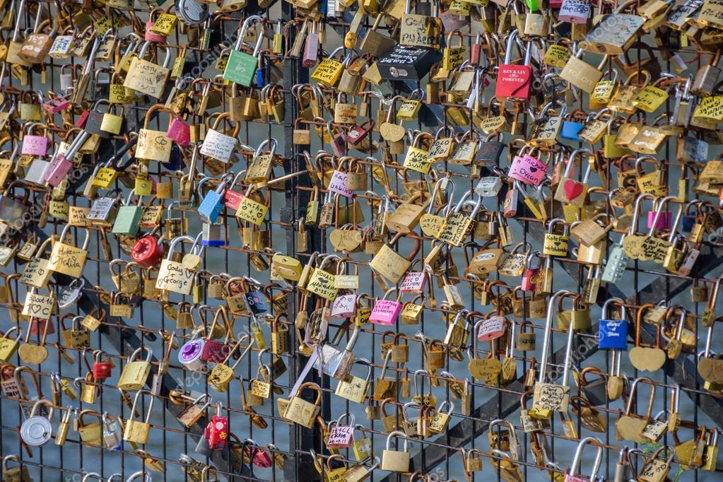 Locks of Pont Des Arts in Paris