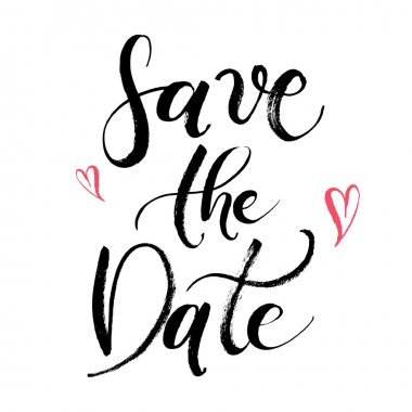 Save the Date abstract card