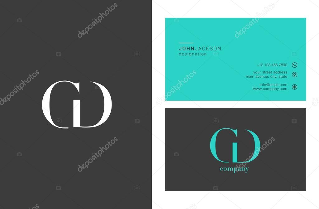 Letters Cd Logo Design