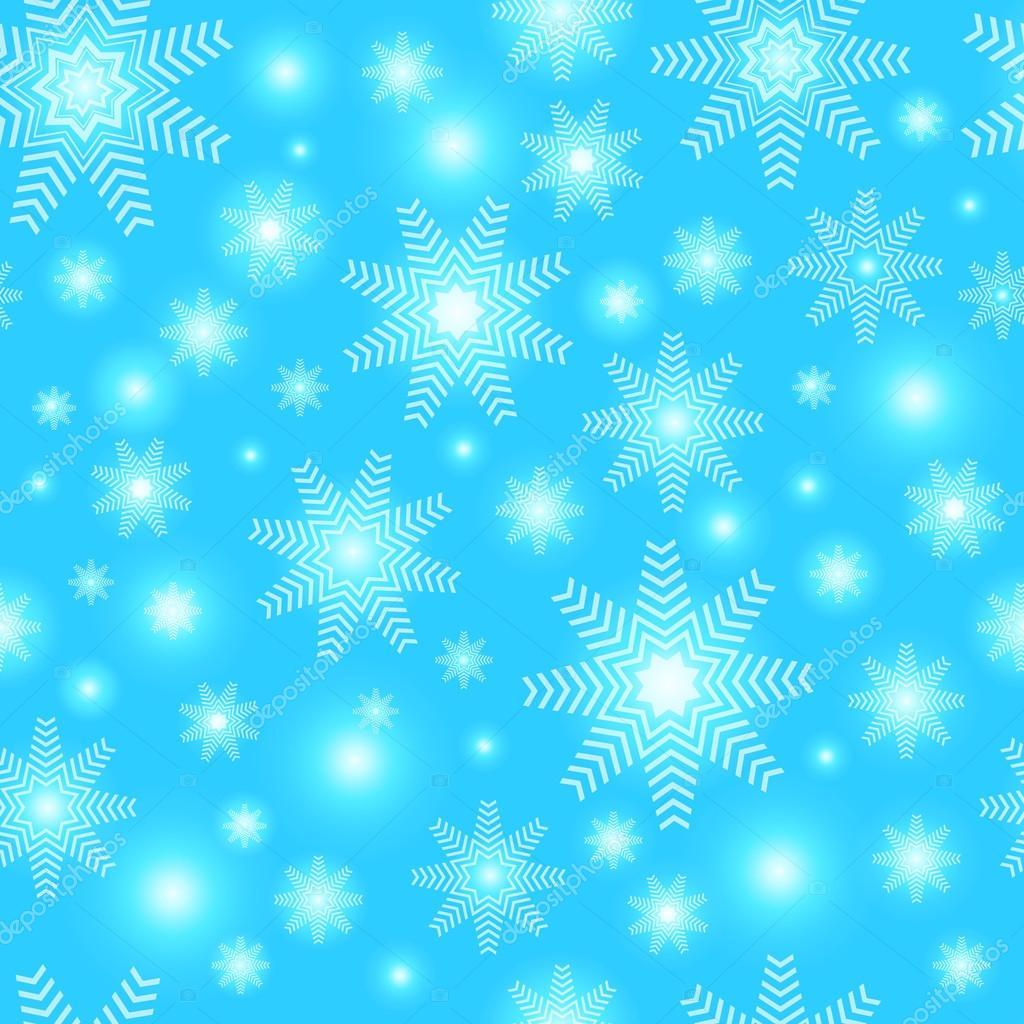 Weihnachten Schneeflocken Hintergrund. Nahtlose Muster Schneeflocken ...