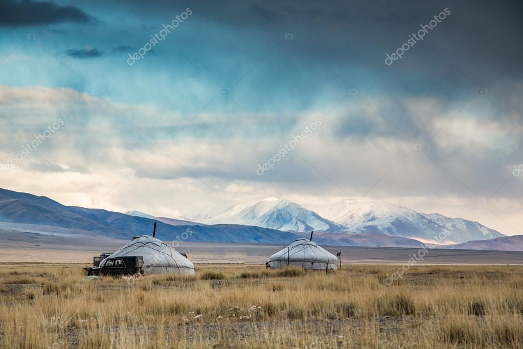 Landscape of Western Mongolia