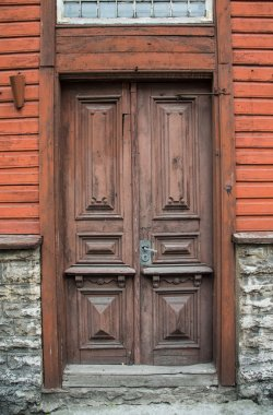 door in Historic Old City of Tallinn