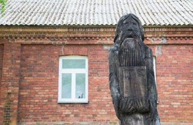 Old religion  statue in Eastern Estonia,