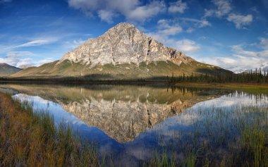Dillon mountain in a refection