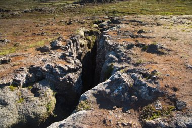 Volcanic landscape of Iceland