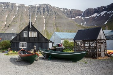 The westfjords heritage museum Isafjordur
