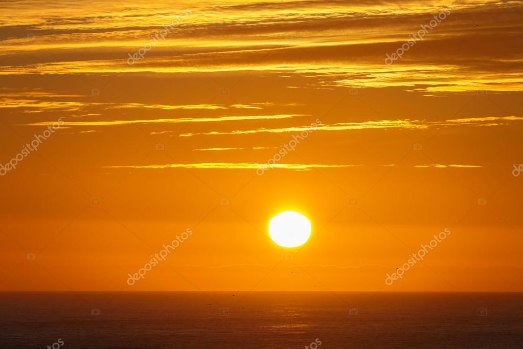midnight sun at Iceland