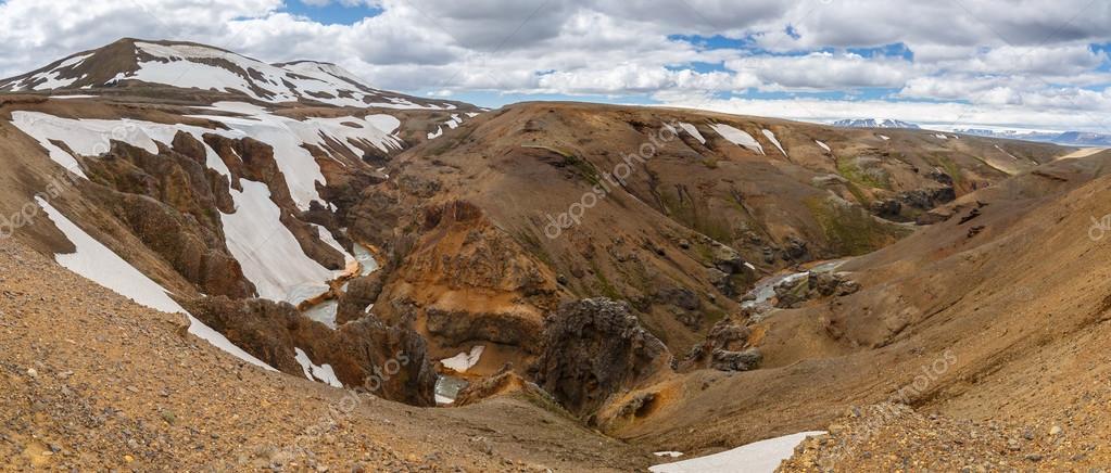 Kerlingarfjoll or The Ogress' Mountains