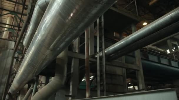 Öl-und Gasindustrie in leistungsstarken hdr Verarbeitungseffekt. Rohre aus rostfreiem Stahl