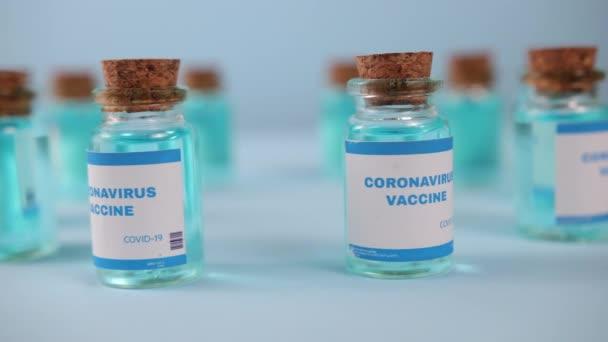 Close up moderna vaccine. Novavax, astrazeneca, biontech, pfizer. Covid vaccine