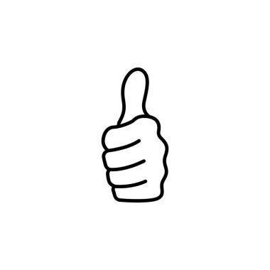 Thumb up icon vector illustration icon
