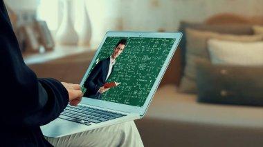 Öğrenci ve Üniversite Konsepti için E-öğrenim ve Çevrimiçi Eğitim.