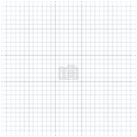 Graph grid paper vector illustration