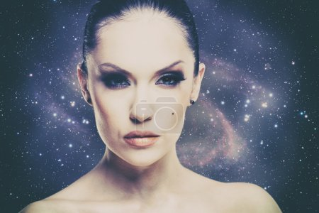 Photo for Beauty Universe, female fashion portrait - Royalty Free Image