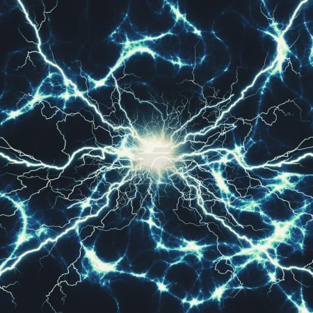 Abstract power and electricity background