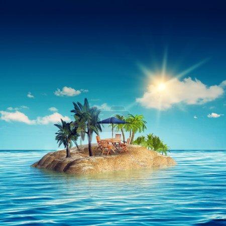 île de beauté de la mer