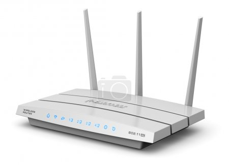 Wireless internet router