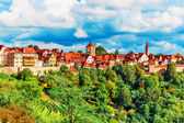 Panorama of Rothenburg ob der Tauber, Germany