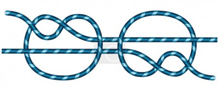 Illustration of the connecting knot