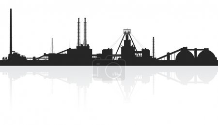 Illustration pour Engrais minéraux plantes isolées sur fond blanc. Illustration vectorielle détaillée . - image libre de droit