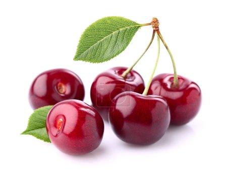 Sweet cherry in closeup...