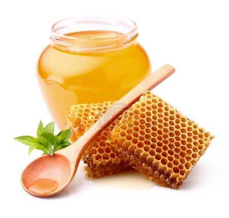 Fresh honey...